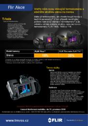 Vyměňte Vaši stávající termokameru za novou, výkonnější